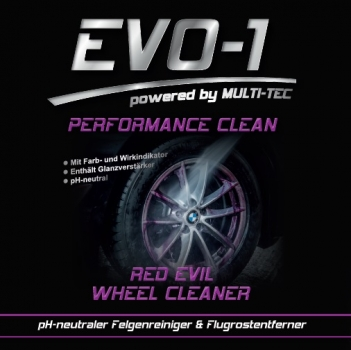EVO-1 RED EVIL Wheel Cleaner pH-neutral
