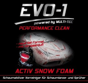 EVO-1 ACTIVE SNOW FOAM