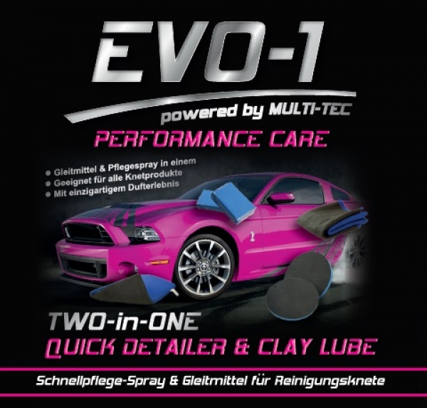 EVO-1 TWO-in-ONE Quick Detailer & Clay Lube